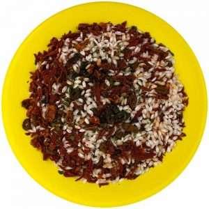 risotto tomaten oliven